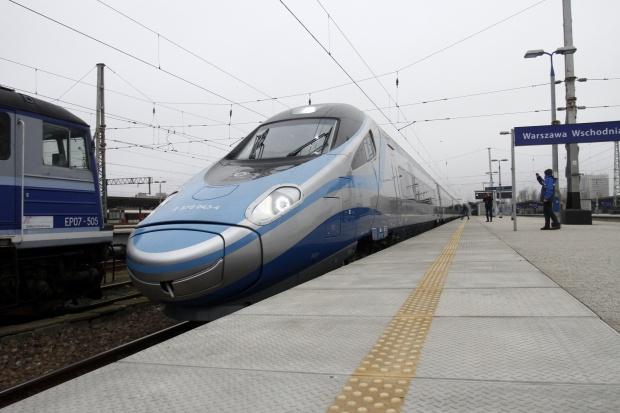 Pendolino w Polsce blisko przekroczenia bariery kolei dużych prędkości