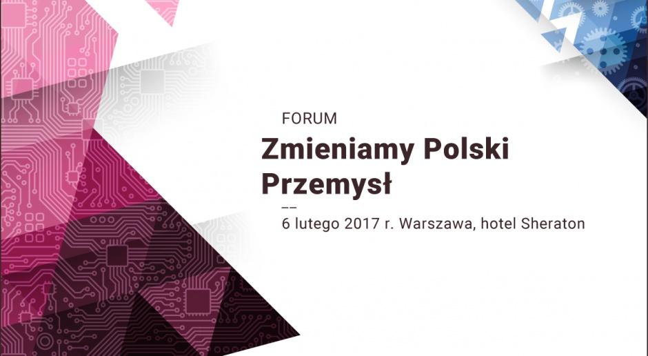 Forum Zmieniamy Polski Przemysł to jedna z najważniejszych cyklicznych debat o stanie, przemianach i perspektywach rozwoju polskiej gospodarki. XVII już edycja tego wydarzenia, organizowanego od lat przez redakcję MagazynuGospodarczego Nowy Przemysł oraz portalu wnp.pl, została zaplanowana na 6 lutego (Warszawa, hotel Sheraton).
