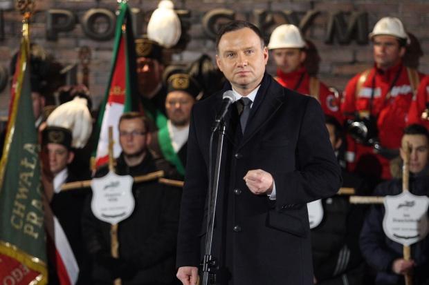 Prezydent w 35. rocznicę tragedii Wujka w Katowicach