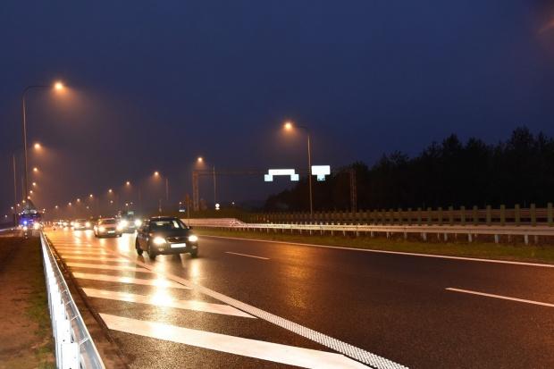 Udostępniono kierowcom odcinek S7 Miłomłyn-Ostróda