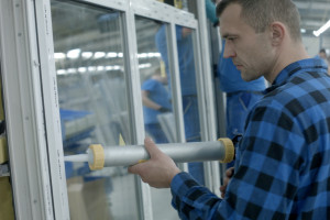 Widoczne spowolnienie w produkcji okien