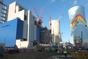 Na budowie bloków w Elektrowni Opole wkrótce próba wodna kotła