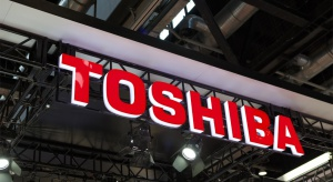 Toshiba cierpi przez wojnę handlową