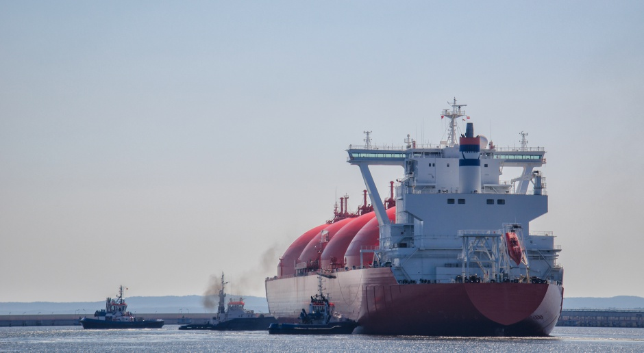 Historyczna chwila. 8 czerwca pierwszy transport amerykańskiego LNG w Polsce