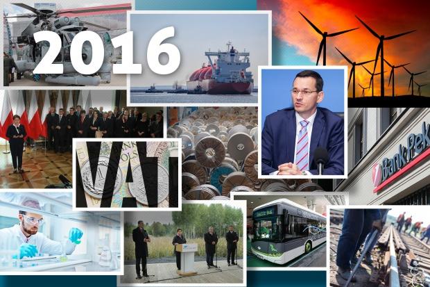 Tym żyła gospodarka - przegląd najważniejszych wydarzeń 2016 roku