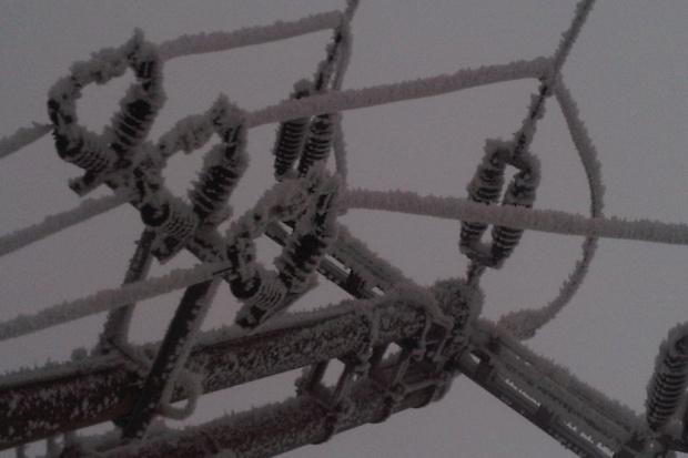 Śnieg pozbawił prądu 292 tys. odbiorców