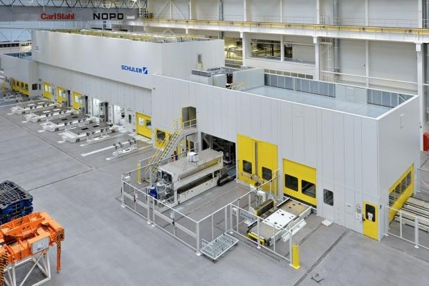 Nowa linia aluminiowych nadwozi w Škodzie