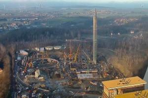 Intensywne prace na budowie bloku 496 MW w Elektrowni Turów