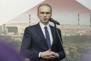 To jedna z naszych kluczowych inwestycji, dzięki niej nasza spółka nie tylko staje się liderem produkcyjnym, ale także technologicznym, bo ten zakład w znacznej części powstał dzięki polskiej myśli technologicznej - stwierdził Radosław Domagalski-Łabędzki, prezes KGHM Polska Miedź Fot. PTWP (Michał Oleksy)