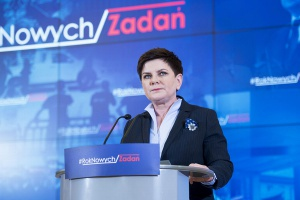 Premier Szydło: zbliża się trudny rok dla finansów publicznych
