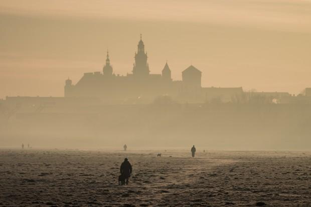 W Krakowie smog i darmowa komunikacja publiczna