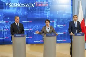 Szydło i Morawiecki: uszczelnianie systemu podatkowego priorytetem rządu