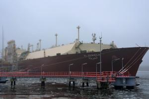 Pierwsza dostawa LNG w tym roku