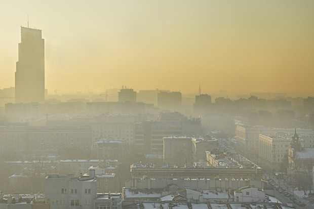 Duże zanieczyszczenie powietrza na Mazowszu