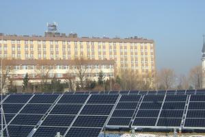 Szpital Wojewódzki w Bielsku- Białej ma elektrownię fotowoltaiczną