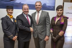 Lufthansa rozszerza współpracę z Etihad Aviation