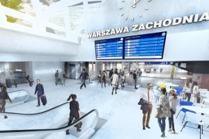 Szykuje się gruntowna przebudowa Warszawy Zachodniej