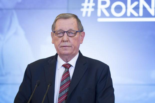 Szyszko: propozycje UE nie mogą być sprzeczne z interesem polskiej gospodarki