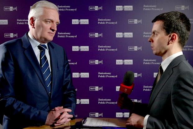 J. Gowin dla wnp.pl: polska gospodarka przestanie być imitacyjna, będzie innowacyjna