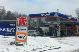 Nowa stacja własna Moya w Rudzie Śląskiej