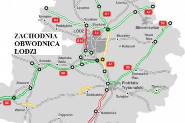 Oferty Budimeksu za 1,6 mld zł najtańsze na S14 - Zachodnią Obwodnicę Łodzi
