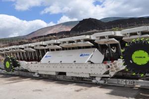 Pierwszy KGS-245 dostarczony do tureckiej kopalni Imbat (jeszcze do współpracy z chińską obudową).