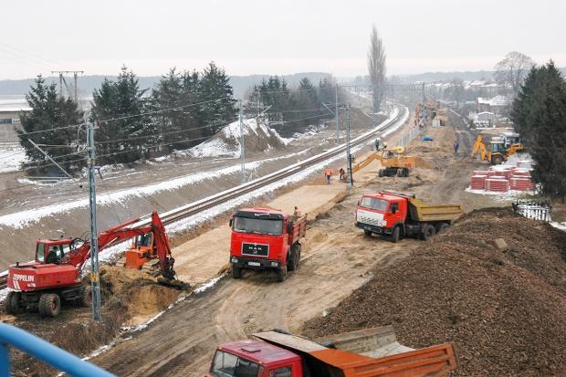 Infrastruktura na huśtawce