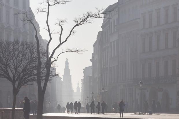 W Krakowie poprawa jakości powietrza