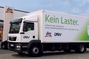 Zielony transport DSV w przewozach miejskich towarów