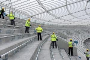 Zdjęcie numer 3 - galeria: Na Stadionie Śląskim trwa montaż krzesełek