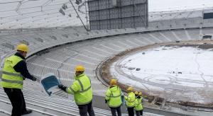 Na Stadionie Śląskim trwa montaż krzesełek