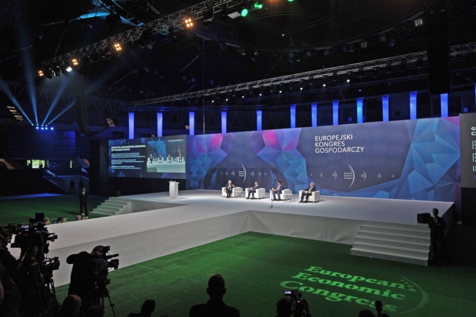 Dyskusja podczas Europejskiego Kongresu Gospodarczego w 2017 r.