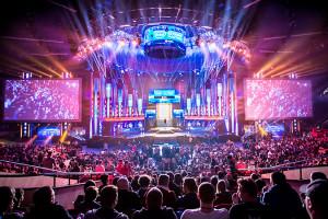Katowice. Tłumy na finałach Intel Extreme Masters 2017 r.