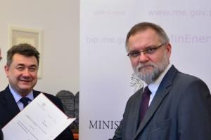 Wiceminister energii przedstawił pracownikom nowego prezesa WUG
