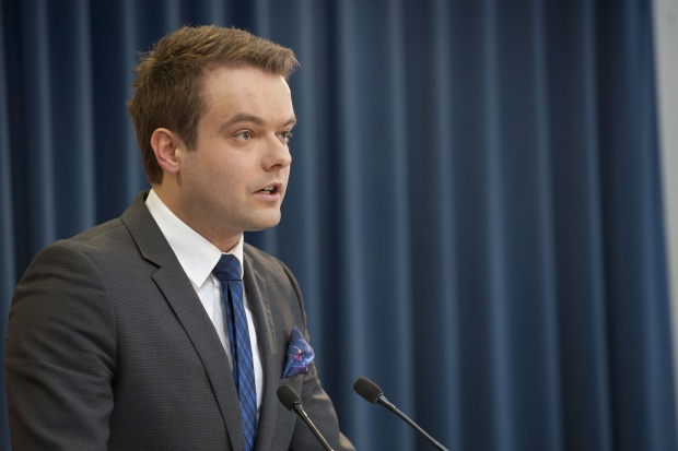 Rafał Bochenek. Fot. KPRM