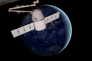 Kapsuła zbudowana przez firmę Elona Muska dotarła na stację kosmiczną