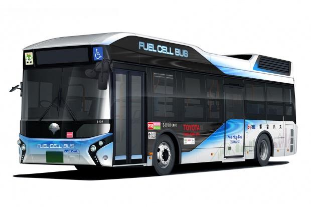 Wodorowe autobusy od Toyoty