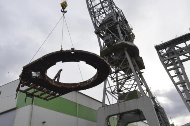 Energomontaż-Północ Gdynia wysłał platformy na morską farmę wiatrową