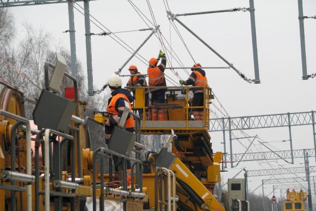 PKP Energetyka zelektryfikuje linię dla PKP PLK
