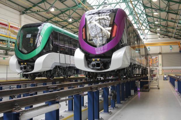 Alstom Konstal finalizuje dostawy pociągów dla metra w Rijadzie