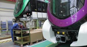 Zobacz, jak przebiega produkcja pociągów dla metra w Rijadzie