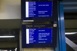 Ciąg dalszy utrudnień dla pasażerów kolejowych