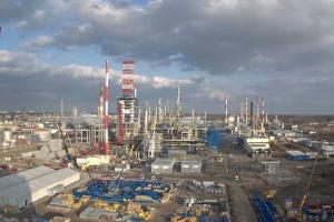 Zbiorniki na wodę zainstalowane w gdańskiej rafinerii