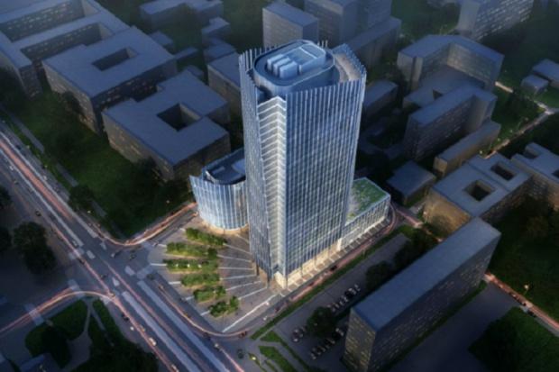 Wmurowano kamień węgielny pod nowy wieżowiec w Warszawie