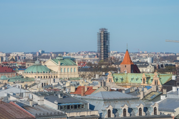 Ponad 100 m wysokości będzie mieć najwyższy budynek w Krakowie