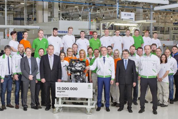 Škoda uruchomiła produkcję nowego silnika