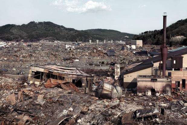 Tak wyglądała Fukushima po katakliźmie w 2011 r. Fot. Shutterstock