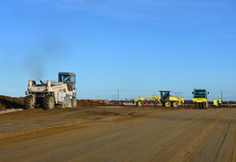 Zdjęcie numer 10 - galeria: Polska w budowie. 1300 km dróg w realizacji i 700 km w przetargach