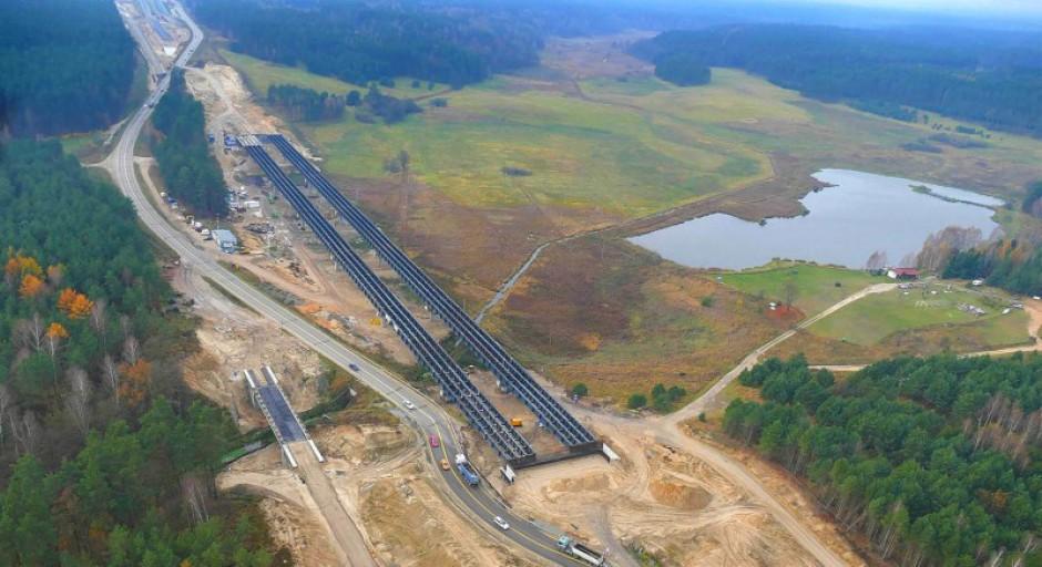Zdjęcie numer 6 - galeria: Polska w budowie. 1300 km dróg w realizacji i 700 km w przetargach