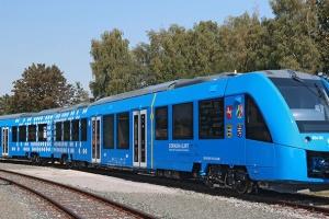 Udane próby pociągu z napędem wodorowym